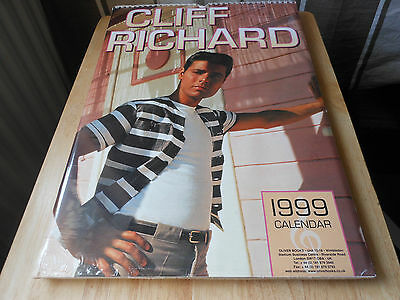 CLIFF RICHARD 1999  calendar still sealed 12  full page pictures of the artist