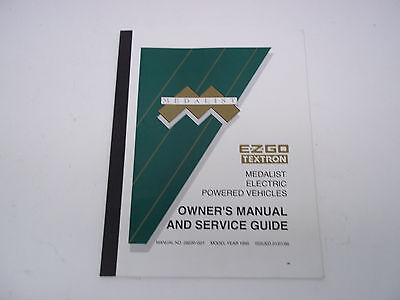 Ez go service manual pc4x electric personnel carrier 3250 ez go owners manual service guide for medalist electric vehicles sku 08161407a publicscrutiny Image collections