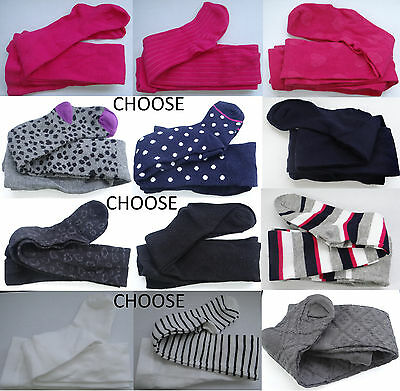 KEDS black/pink/blue/white/gray/pattern full footed tights,girl S:4-6,M:7-10,L:1