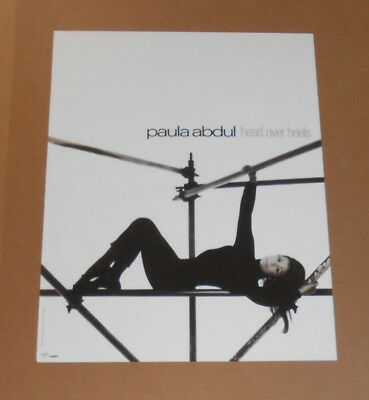 Paula Abdul Head Over Heels Original Promo Poster 24x18