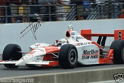 "Indy Car Driver Gil de Ferran Hand Signed Photo Autograph 12x8"" AG"