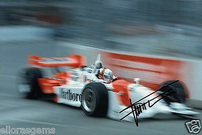"Indy Car Driver Gil de Ferran Hand Signed Photo Autograph 12x8"" AE"