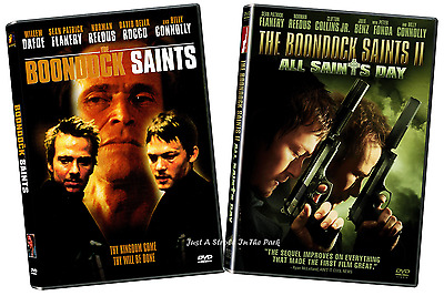Boondock Saints: Complete Movies Series 1 & 2 All Saints Day Box/DVD Set(s) NEW!