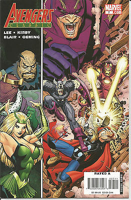 AVENGERS CLASSIC # 7 * Reprints Silver Age LEE & KIRBY  *