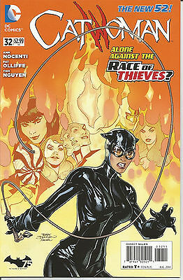 Catwoman # 32 * New 52 * Near Mint
