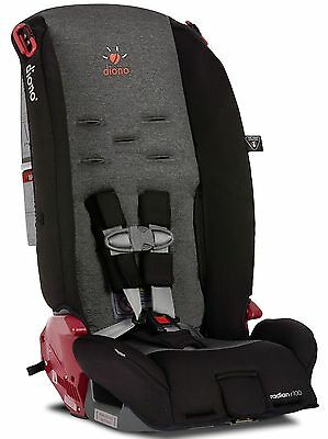 Diono Radian R100 Convertible + Booster Folding Child Safety Car Seat Essex