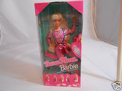1994 Mattel Dance Moves Barbie Doll - Bend  Move Body Plus Arms - 13083 - Age 3+