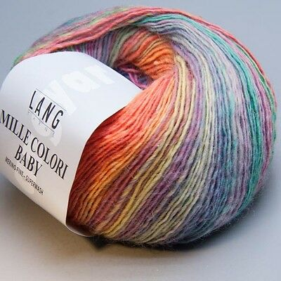 Lang Yarns Mille Colori Baby 153 / 50g Wolle