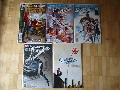 Amazing Spider-Man  657- 661 - Road to Spider-Island  US Marvel Bagged & Boarde