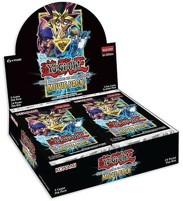 YuGiOh! The Dark Side of Dimensions Movie Pack Booster Box : 24 Packs x 5 Cards