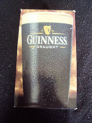 Rare Official Guinness Draught Pint Glass Boxed Special Ed Unused Free Uk P&p