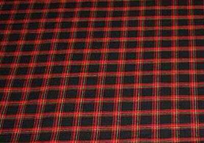 MK1 GOLF Fabric, Mk1 Series 1 GTI, Red/Black, by the Metre - 171881000