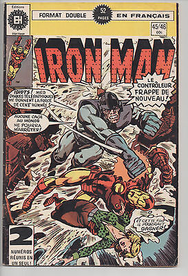 IRON MAN #45/46 french comic français EDITIONS HERITAGE