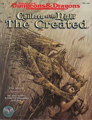 Advanced Dungeons & Dragons: Children of the Night - The Created (engl.)