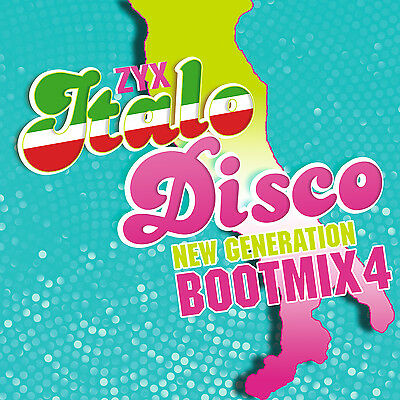 Italo CD ZYX Italo Disco New Generation Boot Mix 4 von Various Artists