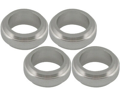 Wheel Spacer Silver 17mm x 10mm Prokart Cadet x 4 Go Kart Karting Race Racing