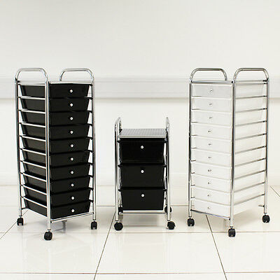 Salon Barber Beauty Storage Trolley Storage Three/ten Drawers