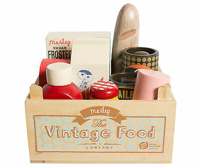 Maileg Miniature Furniture - Vintage Food Grocery Box-Maileg Mouse & Bunny Range