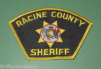 Racine County Sheriffs Department Wisconsin Police Uniform Patch