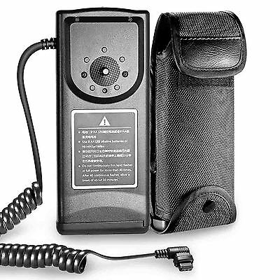 Neewer External Flash Battery Pack for Canon 580EX+,NW680 Speedlite Flash Units