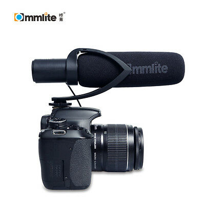 Commlite CVM-V30 Photography Interview Mic Microphone for Nikon Canon Camera DV