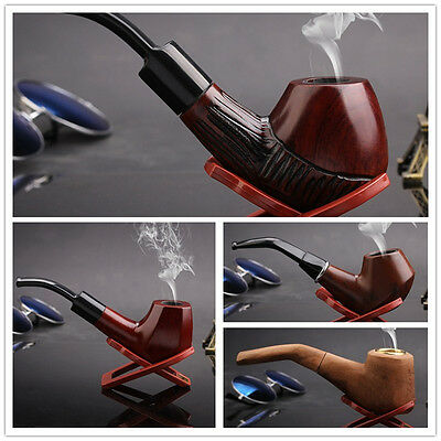 New Unique Wood Briar Tobacco Smoking Pipe by Rohan Pipes