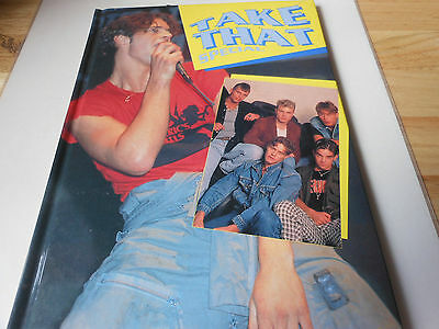 TAKE THAT  hardback book TAKE THAT SPECIAL    HOW IT ALL BEGAN FOR TAKE THAT