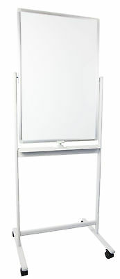 "VIVO Mobile Dry Erase Board 24"" x 36"" Magnetic / Double Sided Whiteboard Stand"
