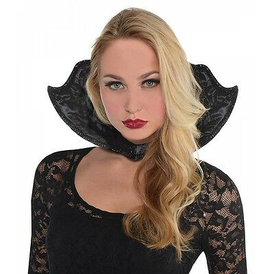 Vampire Collar Womens for Victorian Vampiress Costume Halloween Fancy Dress