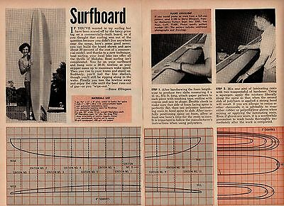 How To Build Your Own Surfboard Plans