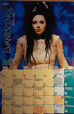1 german poster EVANESCENCE NOT SHIRTLESS AMY LEE ROCK BOY BAND GIRL BOYS GROUP