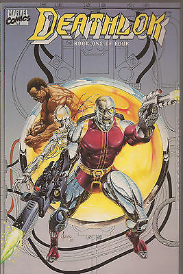 Deathlok # 1 * 1990  Mini-Series * Near Mint