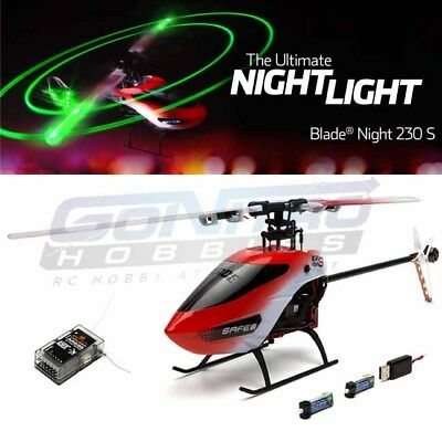 Blade BLH1550 Night 230 S Helicopter BNF Basic w/ SAFE Technology / AR636 RX