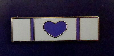 PURPLE HEART police/sheriff/fire dept/ems Uniform Award/Commendation Bar