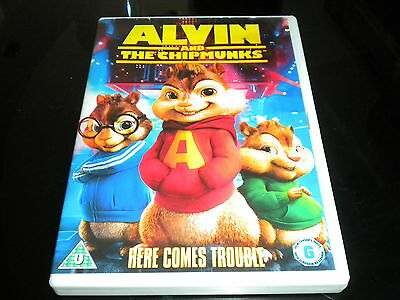 Alvin And The Chipmunks DVD,2007] - Region 2 PAL - Rating G - Family Film