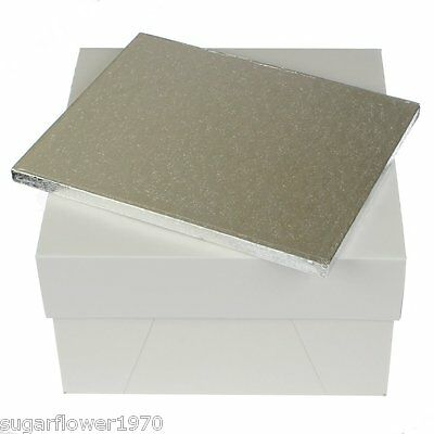 """20 x 18 """" inch LARGE RECTANGLE CAKE BOARD DRUM & 20 x 20  BOX   QUICK DESPATCH"""