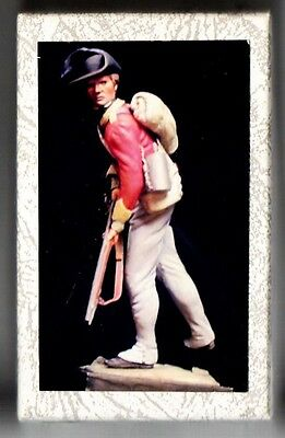 MICHAEL ROBERTS Ltd - 54-008 - PRIVATE 40th LIGHT INFANTRY 1777 - 54mm RESIN KIT