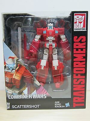 2015 Hasbro Transformers Voyager Class Combiner Wars Scattershot New In Box