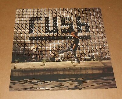 Rush Roll the Bones 1991 Promo Poster 2-Sided Flat Square 12x12