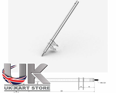 Colonne Direction M8 x 420mm UK KART STORE
