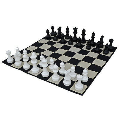 Premium 30cm (12 inch) Chess Pieces with Mat
