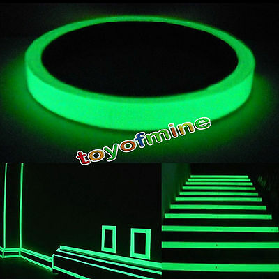 Luminous Tape Self-adhesive Glow In Dark Safety Film Sticker Stage Decor Green