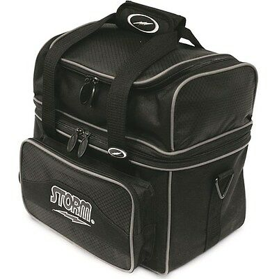 Storm Deluxe Flip Tote Black 1 Ball Bowling Bag