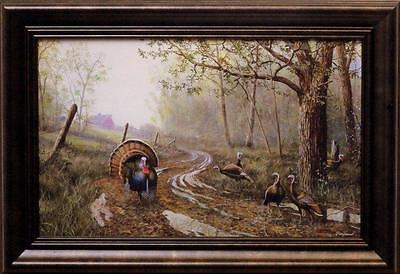 Spring Fever By Jim Hansel Wild Turkey Print Signed and Numbered