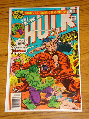Incredible Hulk #201 Vol1 Marvel Comics July 1976