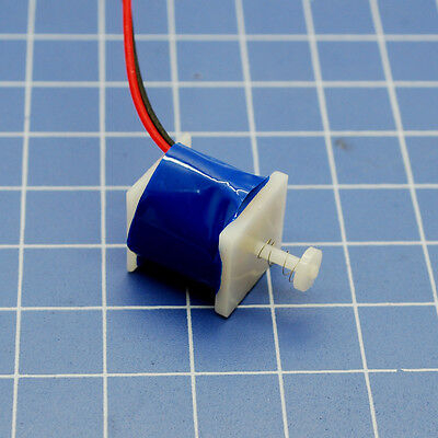 1W 5V DC 200mA Micro Solenoid Electromagnet Push and Suction mini Electromagnet