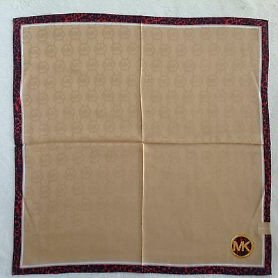 Michael Kors Handkerchief • Made in Japan • Fast Airmail Shipping