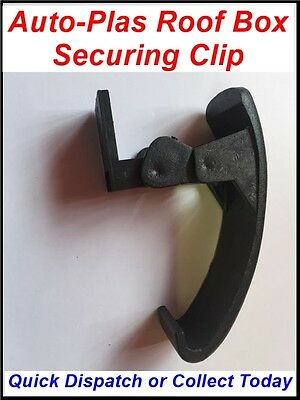 1 x SINGLE SECURING CLIP LATCH CLAMP FOR AUTO-PLAS ROOF BOX A354 A415 CARGO BOX