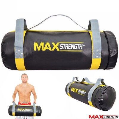 Power Bag Fitness Weight Lifting Exercise Boxing Training Heavy Filled Crossfit