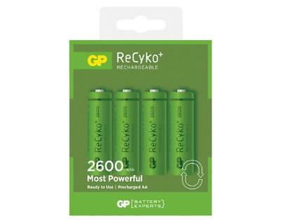 GP NiMH 2600 AA Battery card of 4 [RECHARGEABLE BATTERIES]
